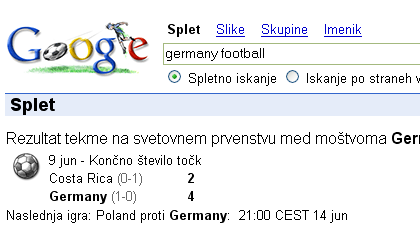 Google Germany Football